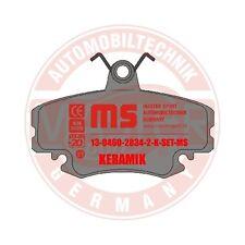 13-0460-2834-2-Bremsbeläge vorn K98 Dacia Logan, Renault Clio I,II Renault 9, 11