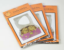 Halloween Trick Or Treat Cookie Gift Box Size: 6.25 in x 6.25 in x 3 in Lot of 3