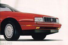 1990 Cadillac Brochure: Allante, DeVille,Fleetwood,60,Eldo rado,Seville,Sts, '90