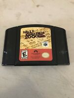 Rally Challenge 2000 Nintendo 64 Game Authentic Black N64 Cartridge Only TESTED