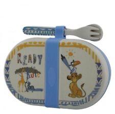 Disney Simba Lion King Organic Snack Box & Cutlery Gift Set A28980