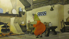 Sleeping Beauty - Flora - Framed Original Production Animation Cel
