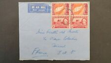 Malaya Selangor Cover to France 1957
