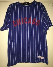 Mitchell & Ness Chicago Cubs Vintage Baseball Shirt Sz 44 L