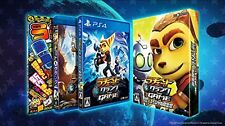 PS4 Ratchet & Clank The Game Super Limited Edition JAPAN