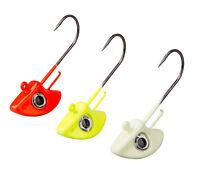 SAVAGE GEAR Stand Up Jigghead Kit Red/Yellow/Glow 3pcs Jigg Head Jig Kopf