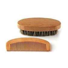 Portable Comb and Beard Brush Kit Static-free Mahogany Comb Hairdressing Tool Me