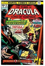 TOMB OF DRACULA #41 (NM-) Appearance of the BLADE! 1976 High Grade Marvel Horror