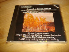 Saint-Saens Symphony No.3 Organ FAGIUS DE PREIST Audiophile BIS CD NEW SEALED