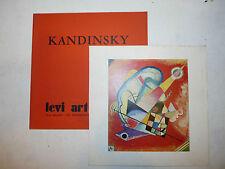 Catalogo Mostra Bauhaus Arte Pittura - Kandinsky Levi Art Center Milano 1971