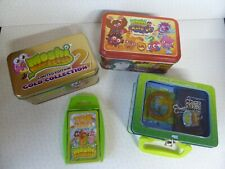Moshi Monsters Collection 3 Tins Figures Cards Gold Collection Code Breakers etc
