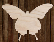 BUTTERFLY Unfinished Wood Cutout Cut Out Shapes Painting Crafts Sign ALL SIZES