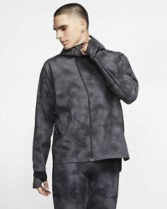 Nike SHIELD TECH PACK Men's Running Jacket Medium Grey BV5721-021 RRP £150