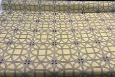 Williamsburg Waverly Lamerie Lattice Sepia Fabric By The Yard