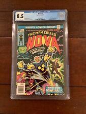 Nova 1 CGC (8.5) 1st. Nova- Origin of Nova,Richard Rider; Marv Wolfman/J.Buscema