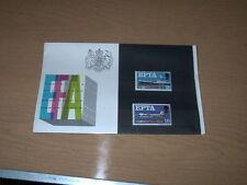 1967 EFTA PRESENTATION PACK IN PRISTINE CONDITION FLAT WITH ORIGINAL CELLOPHANE