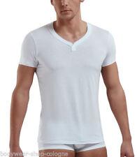 Figurbetonte Herren-T-Shirts mit V-Ausschnitt in Größe XL