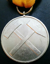 ✚6985✚ German 1957 pattern Mine Rescue Service Decoration for 15 years service