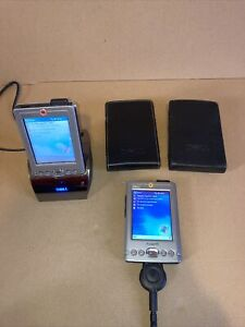 2 X Dell Axim X3 HC02U Pocket PC PDA With 1 Off HD03U Dock And 1 Off Power Cable