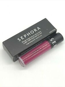 SEPHORA Luster Matte Long-Wear Lip Color Liquid Lipstick MULBERRY Full Size BNIB
