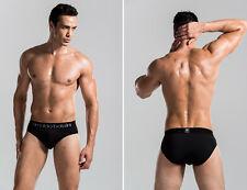 Maximum Stretchy Designed for Sport Black Men's Underwear/Bikini/Brief, (XXL)