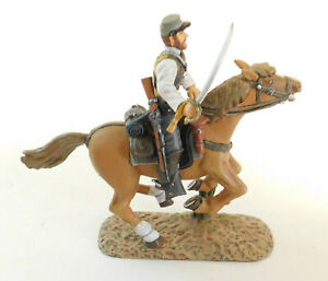 Frontline Figures RC4 Trooper wearing waist coat Sword at Ready Mounted Horse Ca