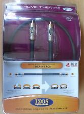IXOS Digital Coaxial Audio Cable XHD408 - 1m EU Seller NEW old Stock QED quality
