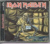 IRON MAIDEN PIECE OF MIND + BONUS SEALED CD REMASTERED