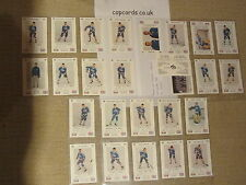 Fredericton Express Canadian ice hockey cards 1986/87 Police Copcards set
