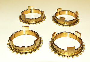 TRIUMPH SPITFIRE MKIV 1300 & 1500 1970 - 1980 SET OF 4 SYNCHRO RINGS