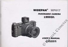Widepan Instruction Manual for WP617 Panoramic Camera, More Guide Books Listed