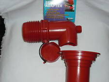 RV - Sewer Hose to Hole 90 - No Drip or Leaks - No Hose Clamp Needed - EZ