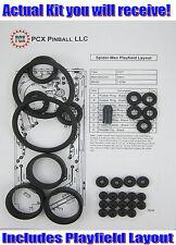 2007 Stern Spider-Man Pinball Machine Rubber Ring Kit