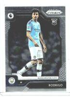 2019-20 Panini Chronicles Soccer Rodrigo (Manchester City) EPL Prizm RC