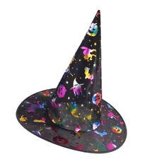 Colorido asistente de Halloween Sombrero Sombrero De Bruja Para Fiesta De Disfraces Trajes