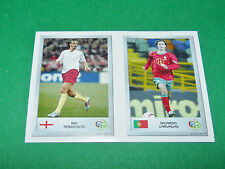 N°23 RIO FERDINAND 62 CARVALHO PANINI FOOTBALL GERMANY 2006 MINI-STICKERS