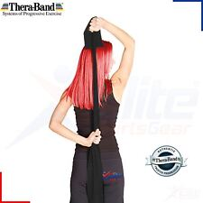TheraBand Resistance Bands Yoga Exercise Fitness Physio Strips Catapult Black 5m