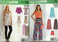 Lot 2 New Look Sewing Patterns Jacket Coat Top Dress Hand Bag Size 8-16 10-22