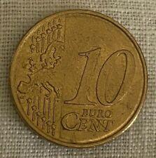 Euro coin. 10 Euro Cent. 2010
