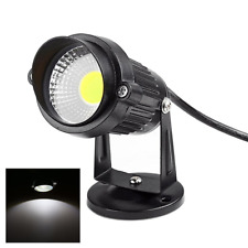 Garden Flood Light Black Outdoor Spotlight LED COB 5W 220V Cool White