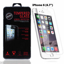 100% GENUINE TEMPERED GLASS SCREEN PROTECTOR FOR APPLE IPHONE 6 4.7""