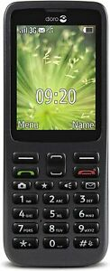 DORO 5516 3G Mobile Phone UNLOCKED Big Button GREY Easy Button BRAND NEW Sealed