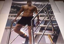 Ashton Kutcher Shirtless Actor Hand Signed 11x14 Photo COA That 70's Show