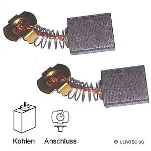 Kohlebürsten Motorkohlen SCHEPPACH HS 80 / TS 205 - 6,5x15x18mm (2244)