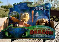 How To Train Your Dragons The Hidden World Fishlegs & Meatlug Action Figure NEW!