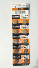 10x Fresh Maxell LR44 AG13 357 157 303 A76 LR154 L1154 Alkaline Battery Exp 2020