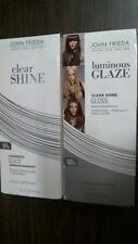 2 John Frieda Luminous Glaze Clear Shine Gloss 6.5 oz. Bottles SHINE SMOOTH