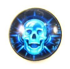 Noosa Style Chunks Snap Button Charms Chunk Charm Snaps Punk Skulls 18mm 42