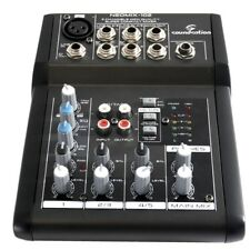 SOUNDSATION NEOMIX 102 mixer 3 canali 7 input eq a 3 bande X live karaoke studio