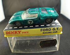 Dinky 215 Ford G.T. Racing Car n°7 1/43 en boîte/inbox version peu fréquente